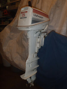 Johnson Outboard 7.5 hp