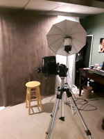 Photographer with studio will due portrait photography