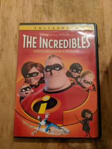 Film Les Incroyables 1 / The Incredibles 1 DVD