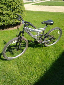 24 inch 18 speed supercycle mountain bike