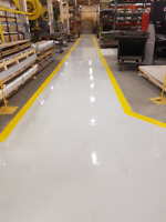 Warehouse Line Painting