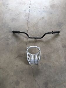 TRX 450r  handle bar and front bumper