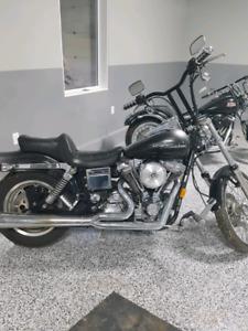 Harley Evo Wide Glide