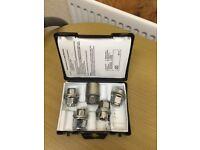 Locking well nuts*4 original+bolt PZA4,Toyota new