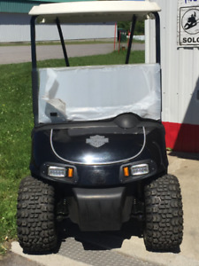 cart de golf   EZ-GO RXV  Harley