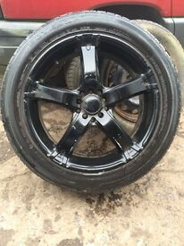 18in multi fit alloys vw Renault etc