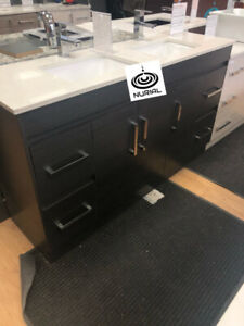 bathroom vanity solid wood vanity modern vanities quartz counter