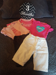3 Month Onesies and Pants