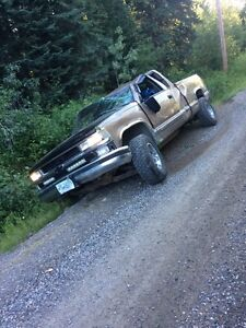 97 Chevy parts truck