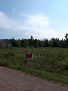 Nice building lot for sale.