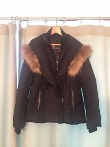 Manteau d'hiver marque OOPIK noir