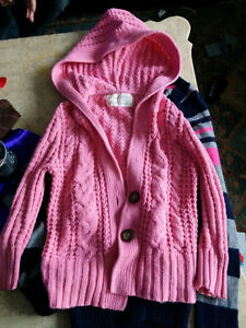 aeropostale pink cable knit