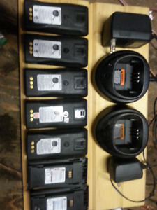 Motorola  scanner battery s and chargers