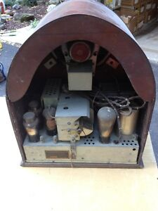Rogers Tube radio Cathedral G-5934 London Ontario image 2