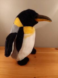 "Emperor Penguin Soft Plush Toy 10.5"""