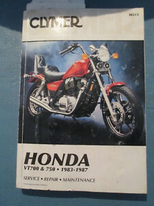 2 Motorcycle manual for 1984 Honda Shadow 750