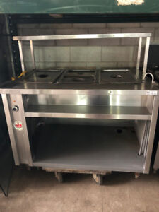 RESTAURANT HOT TABLE BUFFET FOR SALE