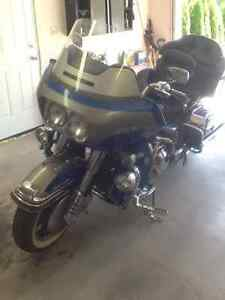 96 ELECTRAGLIDE WITH CARGO TRAILER