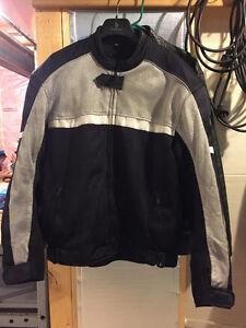 Men's mesh motorcycle jacket