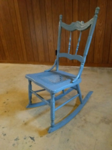 Small antique rocker