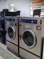 Turnkey Laundromat for sale-business or equipment-Lease exp 8/16