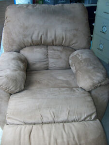 fauteuil et causeuse inclinablke