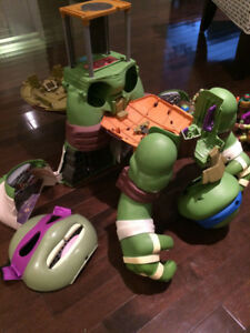 Large Ninja Turtle Set