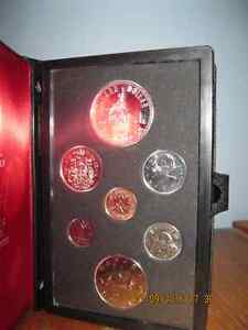 Royal Canadian mint 1975 collection