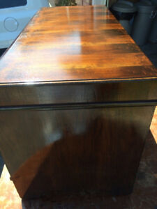 WATERFALL STYLE CEDAR CHEST