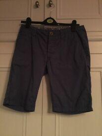 Men's dark blue shorts