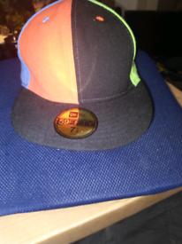 *RARE* hand stitched new era cap size 7½