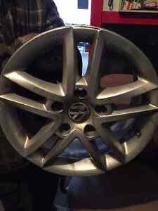 roues mags aluminium touareg 17 pouces d'origine volkswagen