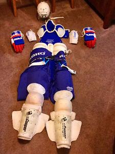Men's hockey equipment
