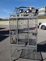 LARGE PARROT CAGE,  MINT COND.