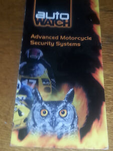 Motorcycle Alarm System By Auto Watch