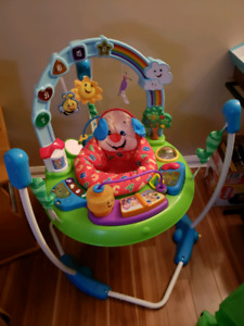 Fisher price laugh and play jumperoo