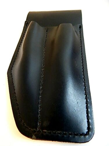 Vintage Jay-Pee Tactical Leather Belt Sheath Holster Pouch Motorcycle Cop Police