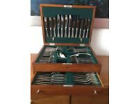 """Silver plate cutlery c 1930""""s"""