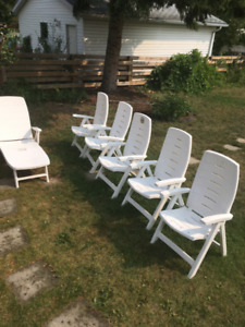Deck/Beach Chairs, Recliner chair