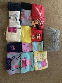Assorted girls clothes and pyjamas 2-3yr/ 3-4yr -used great condition