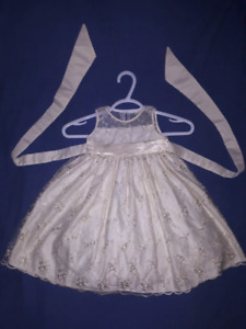 Stunningly Beautiful Holiday Party Dress by CINDERELLA Sz 2T EUC