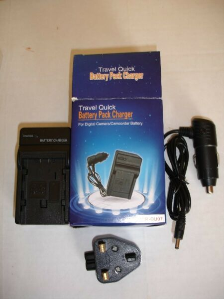 Battery Pack Charger For Panasonic CGR-DU07