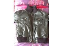 Mens leather jacket - fits 38/40 chest