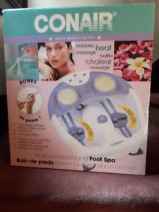 Conair Whirlpool Massaging Foot Spa