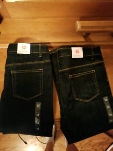 Joe fresh girls jeans size 10 and 12