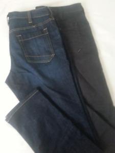 5.11 Flex Slim Jeans 35x36 - Dark Indigo and Charcoal Grey