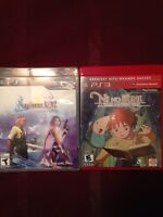 PS3 GAMES - FINAL FANTASY X|X2, NI NO KUNI
