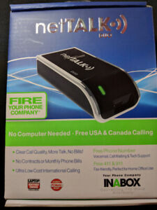 NetTalk Duo - Wifi/Internet Phone Adapter (First Generation)