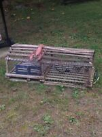 GENUINE  NOVA SCOTIA LOBSTER TRAP