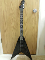 Dean Dave Mustaine Signature Series V Bolt-On-Black